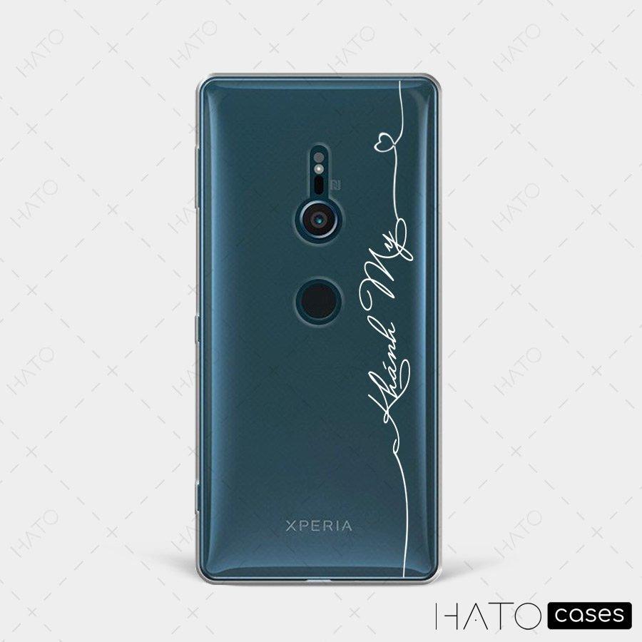 in ốp lưng điện thoại sony xperia xz2 1
