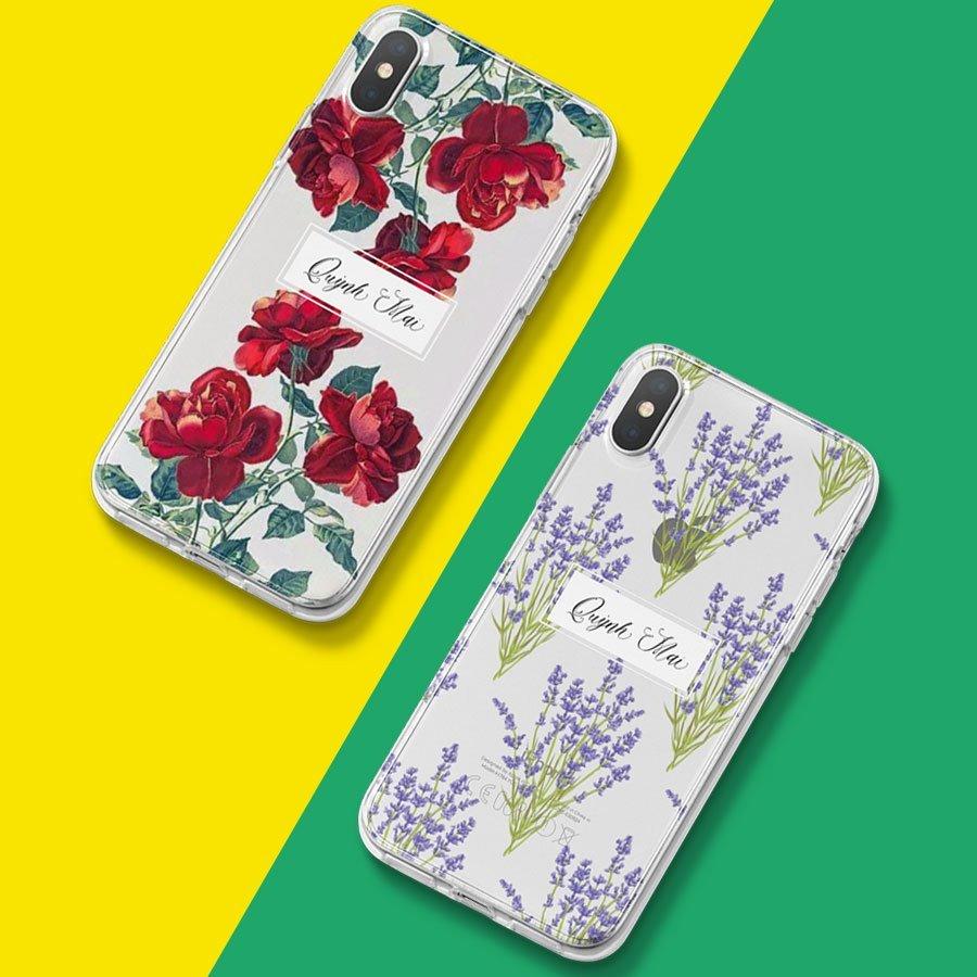 Ốp lưng hoa và lá