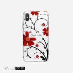 Ốp Lưng Hoa và Lá HL-11