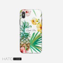 Ốp Lưng Hoa và Lá HL-02, Đẹp – độc – lạ tại HATO Case