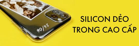 Ốp lưng silicon dẻo trong cao cấp