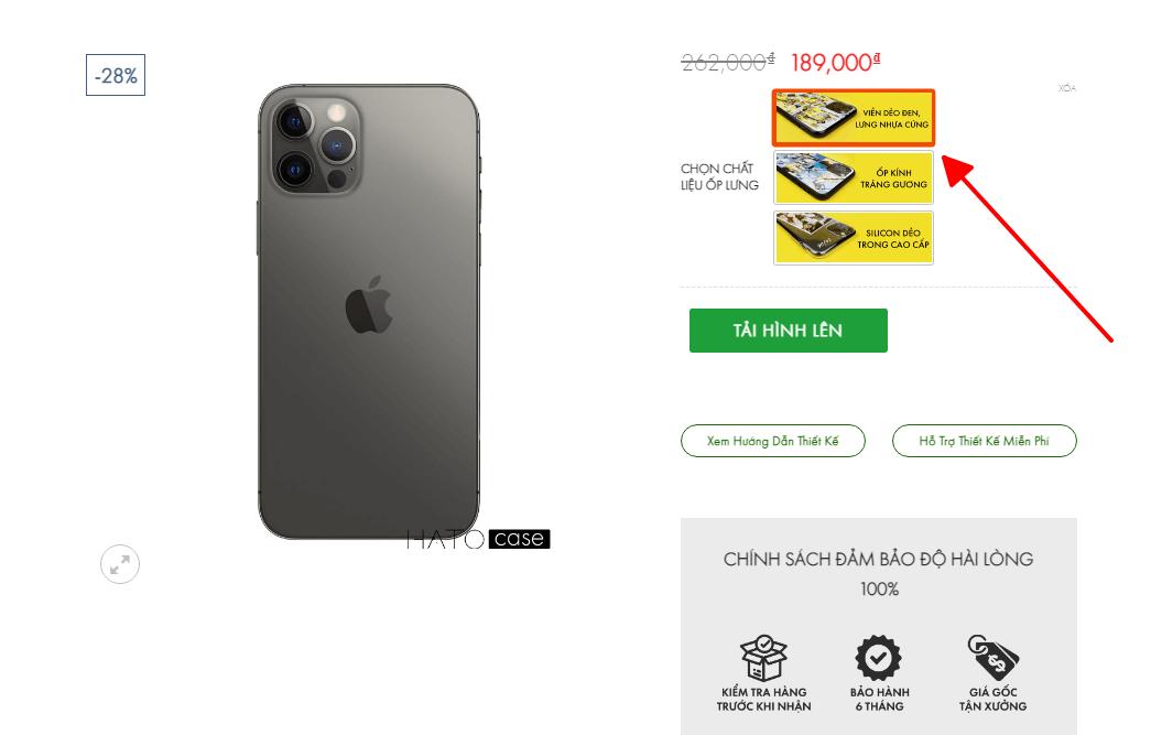 thiết kế ốp điện thoại theo yêu cầu