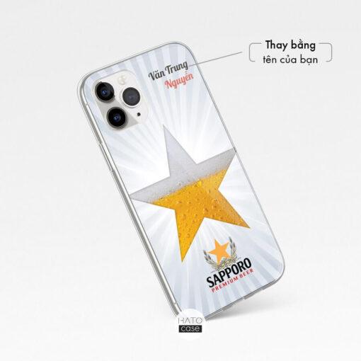 in logo công ty lên case điện thoại